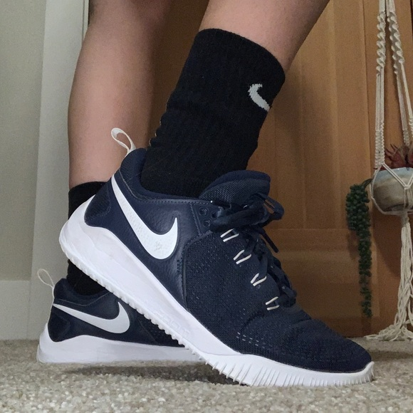 Nike Shoes   Nike Navy Volleyball Shoes